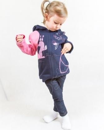Bluza z kapturem dla dziewczynki