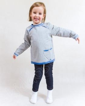 Bluzeczka dziewczęca z kieszonką
