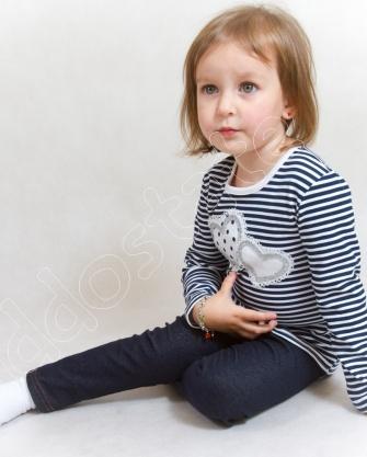 Bluzka dziewczęca w paski