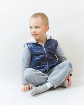 Bluza chłopięca z kapturem