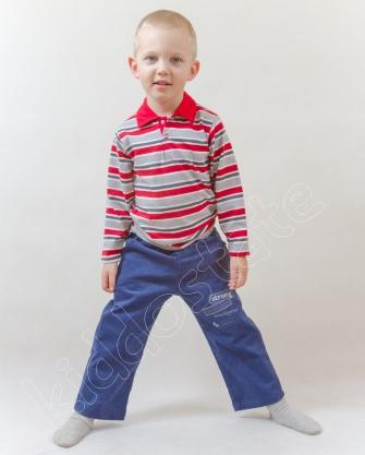 Spodnie chłopięce sztruksowe
