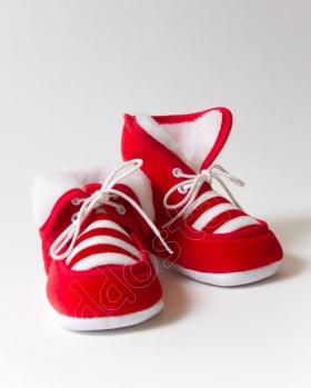 Buciki niemowlęce z kożuszkiem