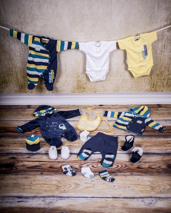 Wyprawka niemowlęca chłopięca roz 56
