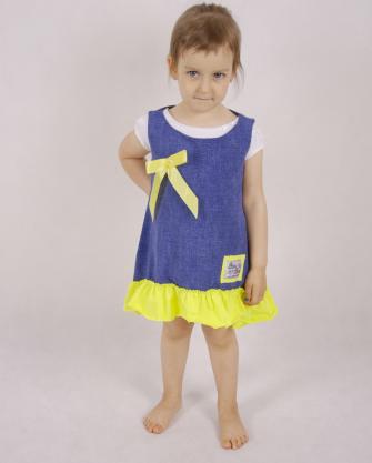 Dziewczęca tunika bez rękawów