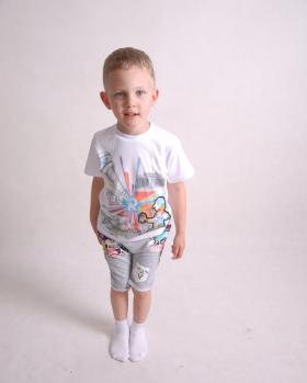 T-shirt chłopięcy 3D