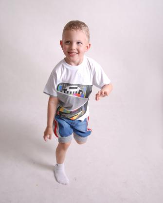 T-shirt chłopięcy bawełniany