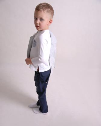 Bluzka chłopięca bawełniana