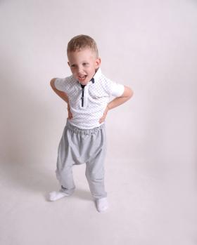 Spodnie dresowe chłopięce gładkie