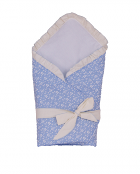 Rożek niemowlęcy błękitny