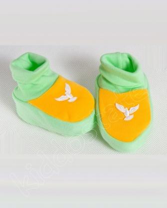 Kapcie niemowlęce bawełniane
