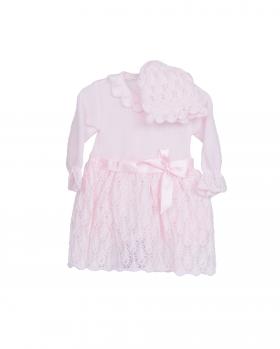 Sukienka niemowlęca ażurowa