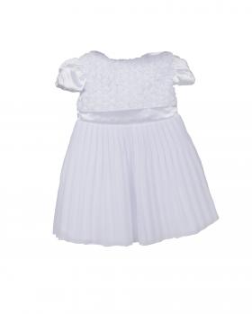 Sukienka niemowlęca plisowana