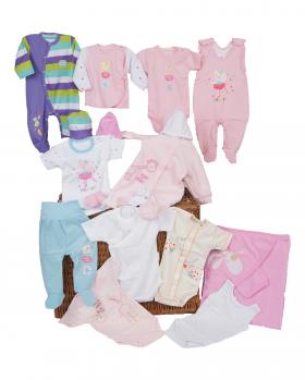 wyprawka niemowleca dziewczęca 68-74