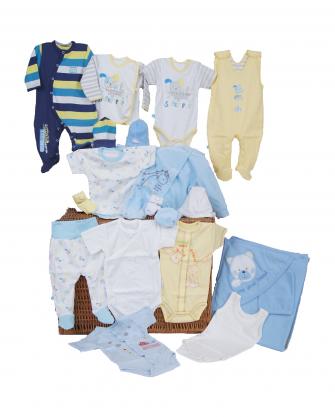 wyprawka niemowlęca 68-74 dla chłopca