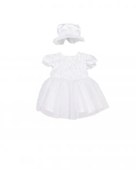 Tiulowa sukienka niemowlęca