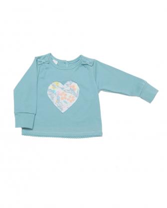 Bluzeczka dziewczęca z sercem