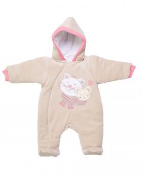 Ciepły pajac niemowlęcy