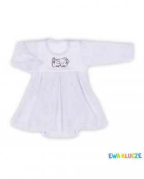 Sukienka niemowlęca z body