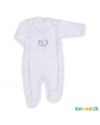 Komplet niemowlęcy biały