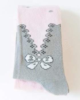 Rajstopki niemowlęce blady róż
