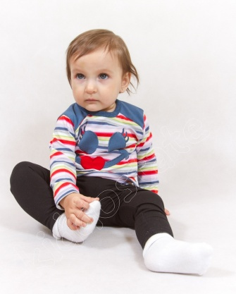 Bluzeczka niemowlęca w paski