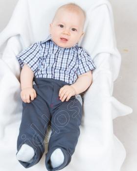 Spodenki niemowlęce dresowe