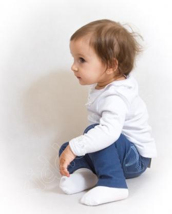 Legginsy niemowlęce