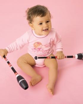Body niemowlęce z krótkim rękawem