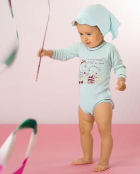Body niemowlęce z długim rękawem