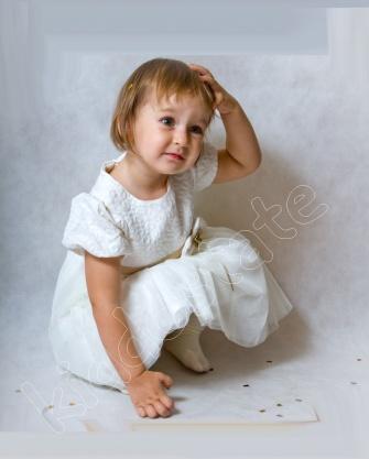 Sukienka dziewczęca + bolerko