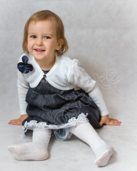 Sukienka niemowlęca z bolerkiem