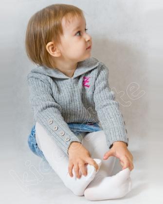 Sweterek dziewczęcy  z aplikacją