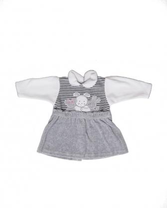 Sukienka niemowlęca w króliki