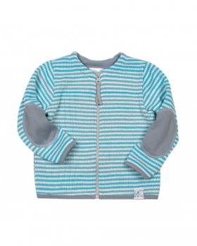 Sweterek niemowlecy w paski