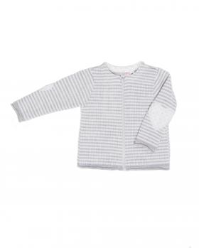 Sweterek niemowlęcy na zamek