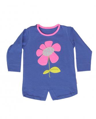 Bluzka niemowlęca z kwiatkiem