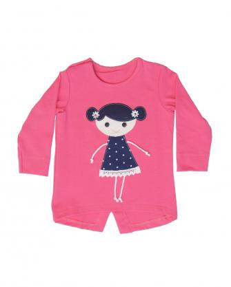 Bluzeczka niemowlęca z laleczką