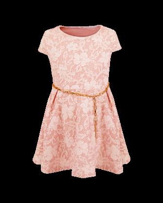 Sukienka dziewczęca z łańcuszkiem