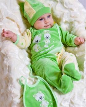 Wyprawka niemowlęca 4-częściowa