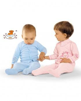Kaftanik niemowlęcy długi rękaw
