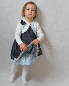 Sukienka dziecięca z bolerkiem