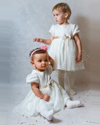 Sukienka niemowlęca + bolerko