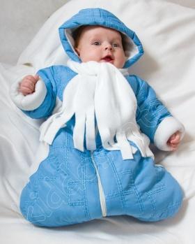 Śpiworek niemowlęcy zimowy