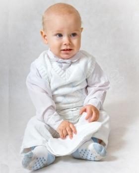 Komplet niemowlęcy na chrzest