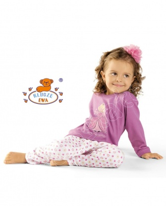 Piżama dla dziewczynek  z bawełny
