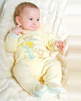Śpioszki niemowlęce WOODLAND