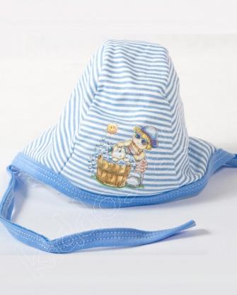Czapka dla niemowlaka bawełna