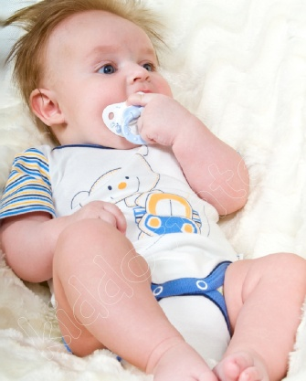 Body niemowlęce krótki rękaw