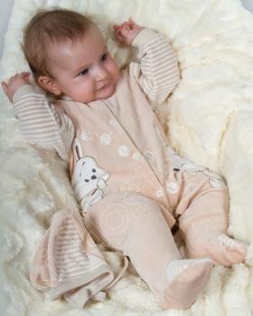 Pajacyk niemowlęcy KRÓLICZEK