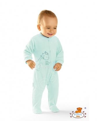 Pajacyk niemowlęcy welurowy HAPPY
